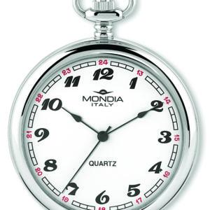 Mondia orologio da tasca uomo MI-740-SS-02WT-TA