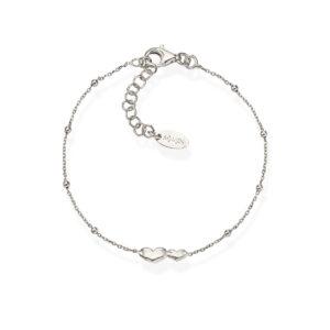 Amen bracciale donna Cuoricini in argento BRCDB3