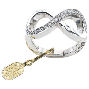 Iacopini anello infinito in argento 2132-699