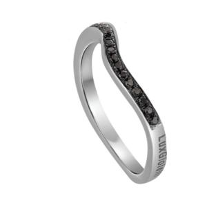 Lux Gioielli anello in oro con diamanti FASOB01